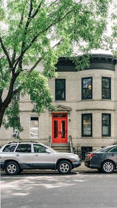 Brooklyn Neighborhoods: Windsor Terrace evokes a sense of tranquility with its tree-lined streets, quaint coffee shops, and access to sprawling Prospect Park. Brooklyn Neighborhoods, Nyc Real Estate, Prospect Park, Tree Line, Coffee Shops, Windsor, Townhouse, Terrace, The Neighbourhood