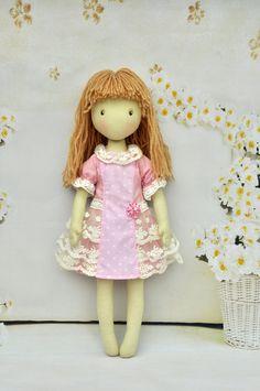 Doll dress clothes for dolls pink dressDress Handmade by NilaDolss