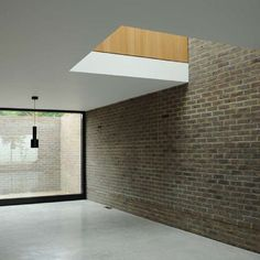 Very nice interior. Calm and beautiful. King's Grove by Duggan Morris Architects.