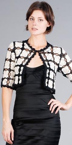 Outstanding Crochet: Bolero       ♪ ♪ ... #inspiration_crochet #diy GB