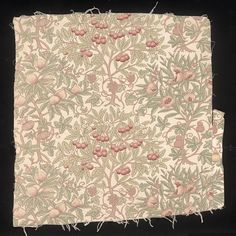 Furnishing fabric | Sidney Mawson | V&A. Furnishing fabric of block-printed cotton. Made in Lancashire, England in ca. 1909. Designed by Sidney Mawson for Turnbull & Stockdale Ltd.