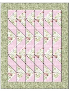 DANCING GEESE 3 YD QUILT PATTERN