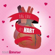 De dag van het #hart. Dat vieren we bij Rabarber met een dag ontwerpen, want daar gaat ons hart sneller van kloppen.