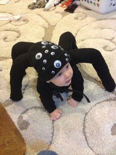 Spider Halloween costume for baby. - #baby #Costume #Halloween #Spider