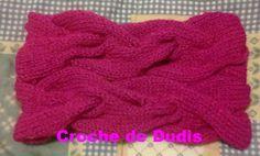 Artesanato de Dudis 2: Gola com tranças de tricot ( A very braidy cowl)