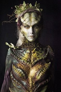 Cinema Make Up by Laura (Face Off) Mother Earth Goddess