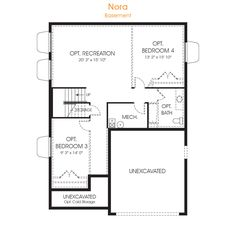 This Nora floorplan is 3,551 sq ft as a two story home with 3 beds and 2.5 bathrooms. With many choices to personalize your space. Call an EDGEhomes agent today!
