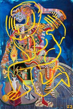 "Juxtapoz Magazine - Zio Ziegler ""The Creative Dialectic"" @ Artists Republic 4 Tomorrow"