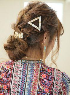 大人やわ髪★ボヘミアンアレンジ 【Chocolat Umeda】 http://beautynavi.woman.excite.co.jp/salon/27343?pint ≪ #arrange #hairstyle・アレンジ・ヘアスタイル・髪形・髪型≫