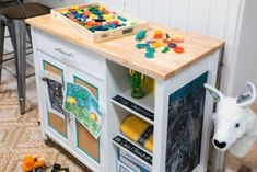 Keeping a small space tidy when you have lots of stuff doesn& have to be an epic challenge. With these easy additions and clever storage ideas, you can control clutter and make daily cleanups a whole lot easier for everyone. Small Space Storage, Smart Storage, Storage Hacks, Toy Storage, Storage Ideas, Organization Ideas, Household Organization, Storage Cart, Kitchen Organization