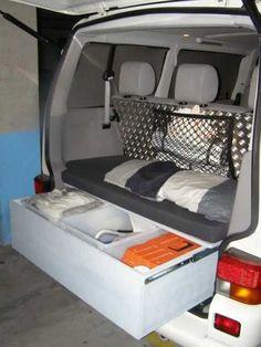 Campervan camper and small van canopy for VW split bay T25 T4 T5 T6 Vito bongo etc