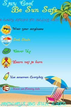 Sun Safety Poster Contest  Mrs. Gliatta/Health/North Forsyth High/Elizabeth Cantrell/I Am Sun Safe
