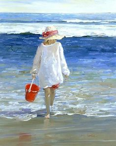 Sally Swatland Connecticut Shore Painting