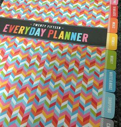 2015 Everyday Printable Planner! View all the details here: http://www.misstiina.com/2015