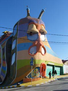 "Whimsical ""Snail House"" - Sofia, Bulgaria"