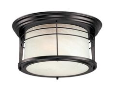 Senecaville 2 Light Flush Mount