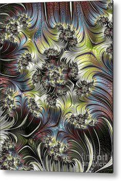 "Digital art metal print  ""Dreamscape"" by ArankaArts Framed Prints, Canvas Prints, Art Prints, Fractal Design, Beautiful Artwork, Wood Print, Marines, Fractals, Fine Art America"