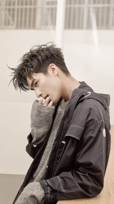 SongWeiLong 17 Most Popular Asian Hairstyles Men 2019 Yet You Know - Korean Men Hairstyle, Korean Haircut Men, Song Wei Long, Asian Haircut, Kpop Hair, Boy Hairstyles, Asian Hairstyles, Trendy Hairstyles, Hair Reference