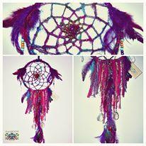 S<3B Recycled Silk Yarn Dreamcatcher