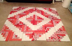 First quilt of 2015.