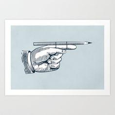 Kill your darlings Art Print by kantorp-wegl.in - $18.00