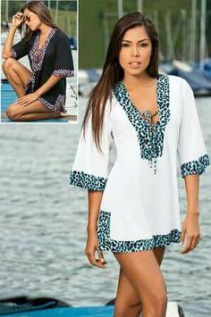 White Wonder Cover-up by Garotas Swimwear Summer Wear, Summer Outfits, Beach Dresses, Summer Dresses, Pretty Outfits, Cute Outfits, Beach Attire, Classic Outfits, Swimwear Fashion