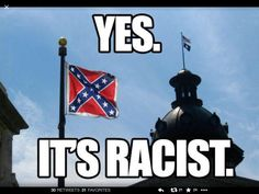South Carolina will NOT get my tourism dollars as long as they fly this flag on state owned property! Boycott South Carolina It's a creepy feeling to see in person too. We Are The World, Change The World, Meanwhile In America, Truth And Justice, Religion And Politics, Southern Pride, The Ugly Truth, State Of The Union, Social Issues