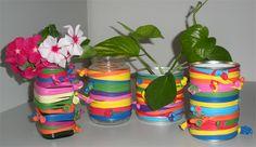 Lavoretti per bambini - I vasetti colorati con i palloncini