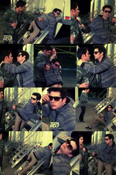 Funny drunk Void Dylan O'Brien lol - skit for After After
