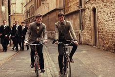 Young English gentlemen.