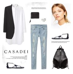 """""""Casadei Evening Sandals"""" by bellamarie ❤ liked on Polyvore featuring Tsumori Chisato, ASOS, Yves Saint Laurent, Casadei, Rebecca Minkoff, Proenza Schouler, Monki, Cheap Monday, women's clothing and women"""
