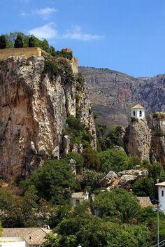 Castell de Guadalest Alicante Comunidad Valenciana Spain