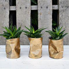 DIY récup' : recycler ses boites de conserves