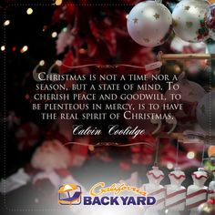 The Magic Of Christmas Is Here At All California Backyard Locations! # Christmas #Holidays