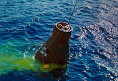 photos of landings of mercury space pod - Google Search