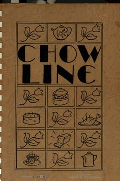 Chow Line By Camp Cooke Officers' Wives - (1940s) - (babel.hathitrust)