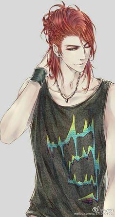 redhead~ ruivo~anime~ideias~style''http://www.weibo.com/u/3730091551''