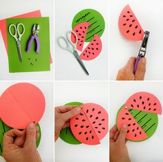 Printable Watermelon Invites with free downloadable templates