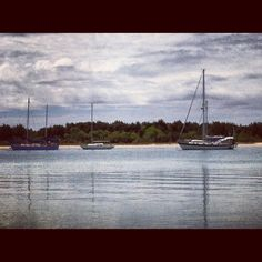 Sailboats in Beaufort
