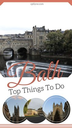 Top things to do in Bath, UK  #travel #uk #England #Bath