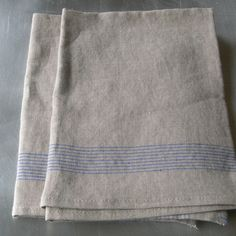 linen napkins. like these but have sets of six and have multiple sets in colors like this blue, a red, a yellow, a green, and a dark gray. LOVE!
