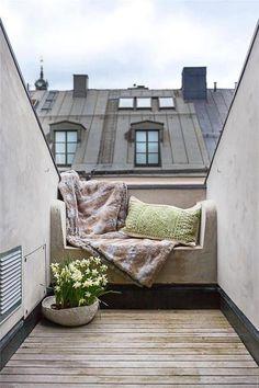 Wypoczynek na dachu