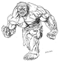 #Red #Hulk #Fan #Art. (Red Hulk) By: Silvogba. ÅWESOMENESS!!!™ ÅÅÅ+
