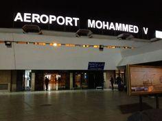 Aéroport International Mohammed V (CMN) مطار محمد الخامس الدولي in Nouasseur, Région du Grand Casablanca