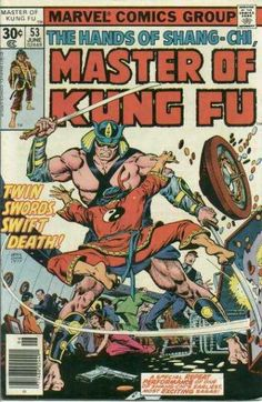 THE HANDS OF SHANG-CHI MASTER OF KUNG FU 53 BRONZE AGE MARVEL COMICS