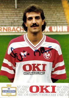 Football Cartophilic Info Exchange: 1.FC Kaiserslautern - 1.FC Kaiserslautern Autogrammkarten (1989-90)