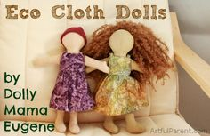 Linda Walsh Originals Dolls and Crafts Blog: The History Of Faceless Dolls - Updated February 2015 - Part XIII - Waldorfs