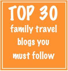 Best family travel blogs we love: http://www.redtri.com/top-family-travel-blogs #travel #family #travelingwithkids