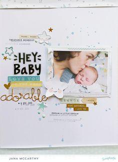 Hey Baby | schere, kleber und papier