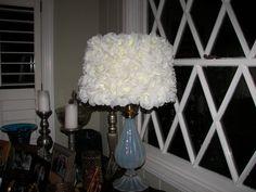 Silk Rose Lamp Shade